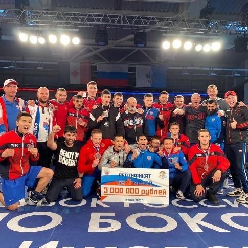 Уральский федеральный округ стал бронзовым призёром на Кубке России по боксу
