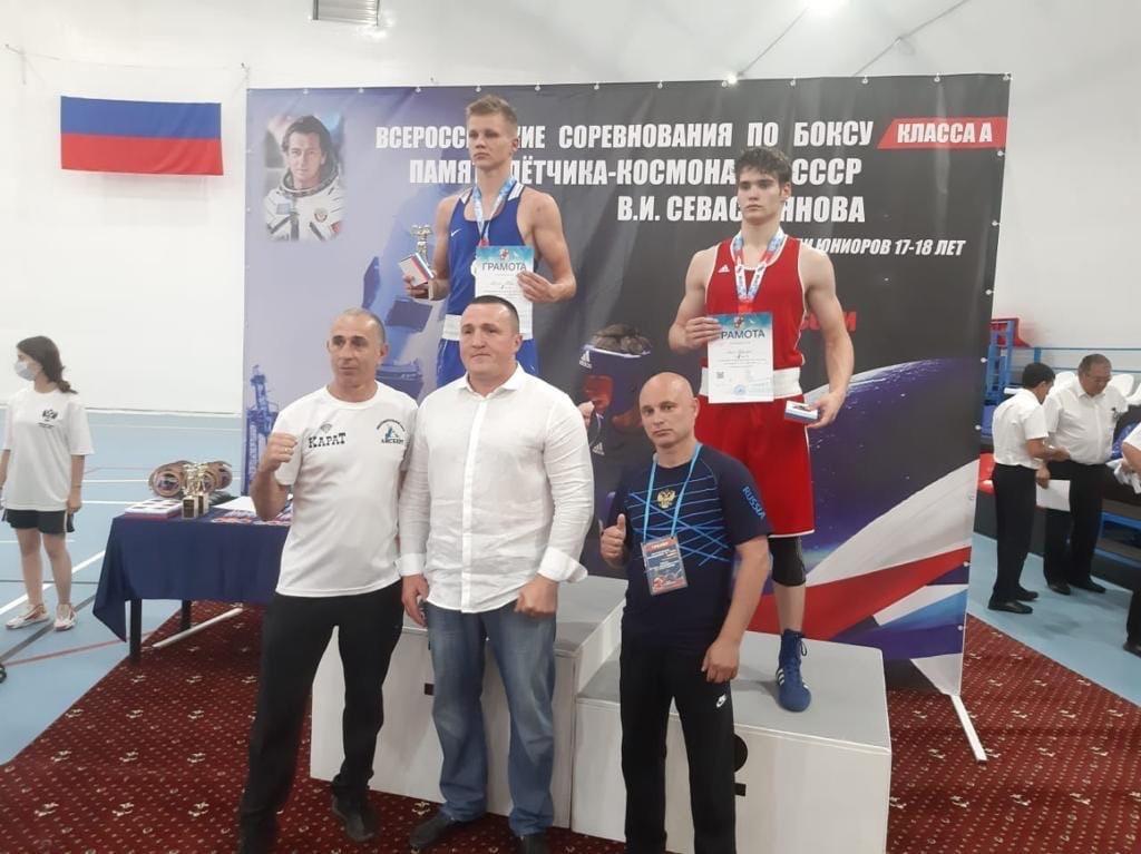 Георгий Лапп стал обладателем серебряной награды