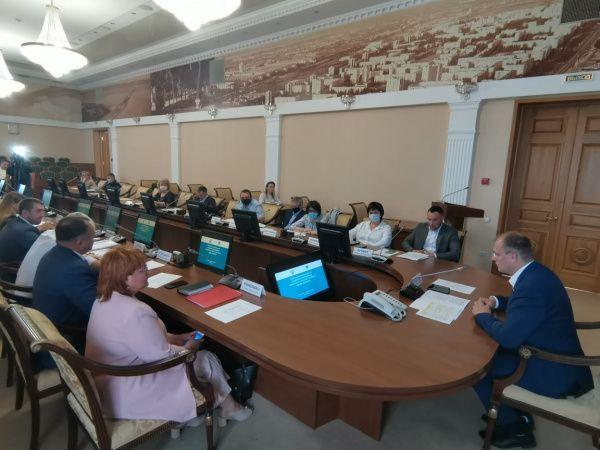 Состоялось совещание Организационного комитета по подготовке и проведению чемпионата России по боксу среди женщин