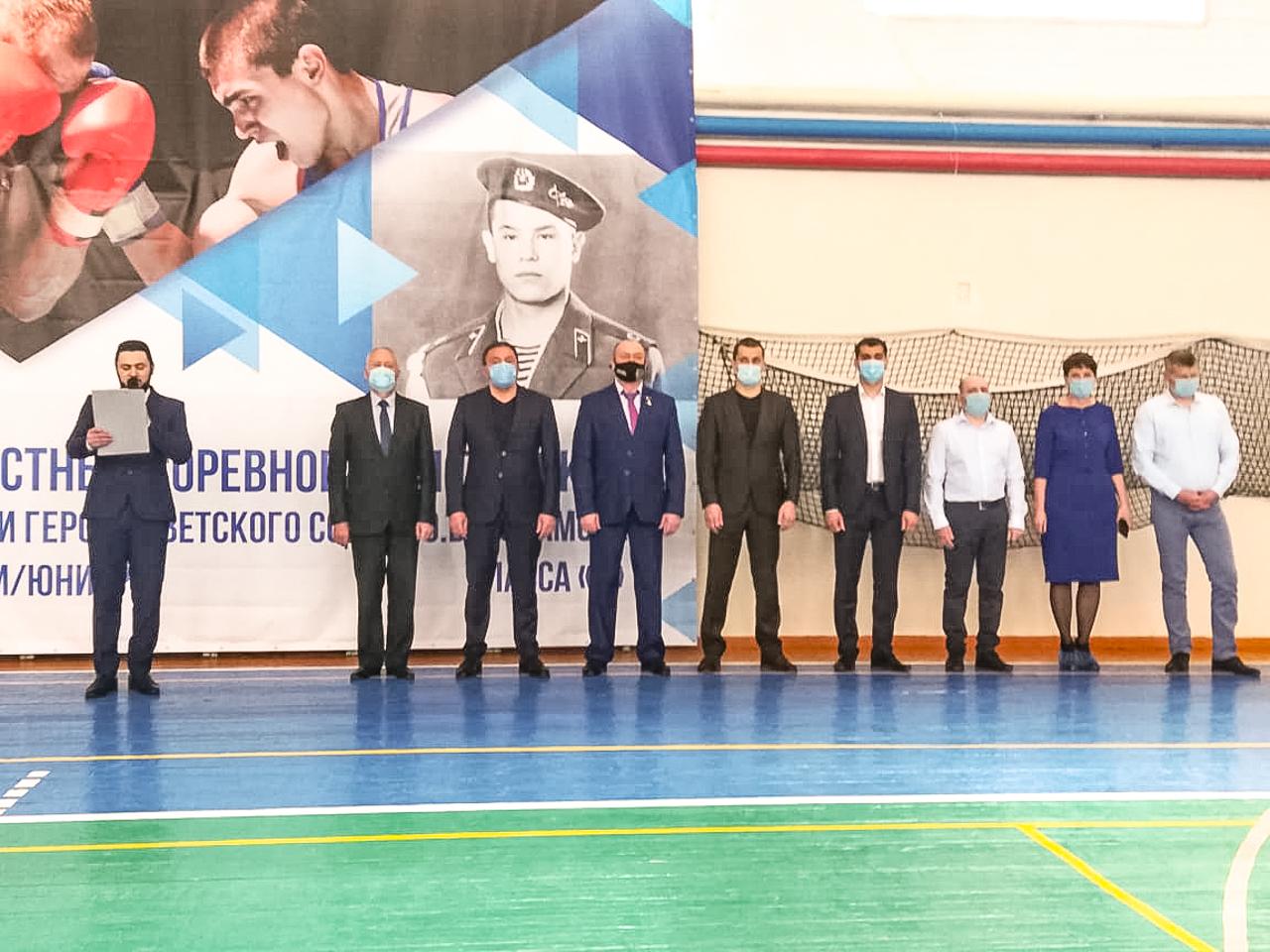 В Талице стартовали областные соревнования по боксу класса «Б» памяти Героя СССР Ю.В. Исламова.