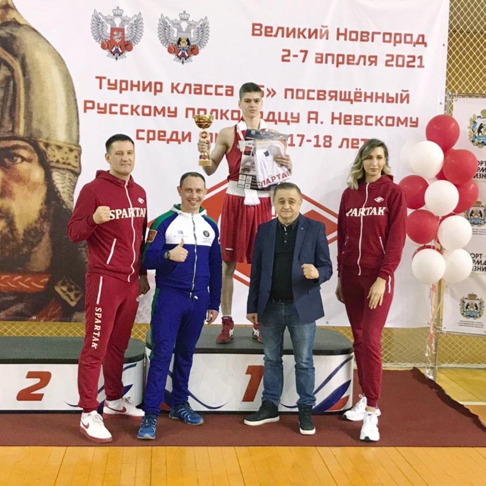 Свердловские боксёры одержали победу на турнире в Нижнем Новгороде