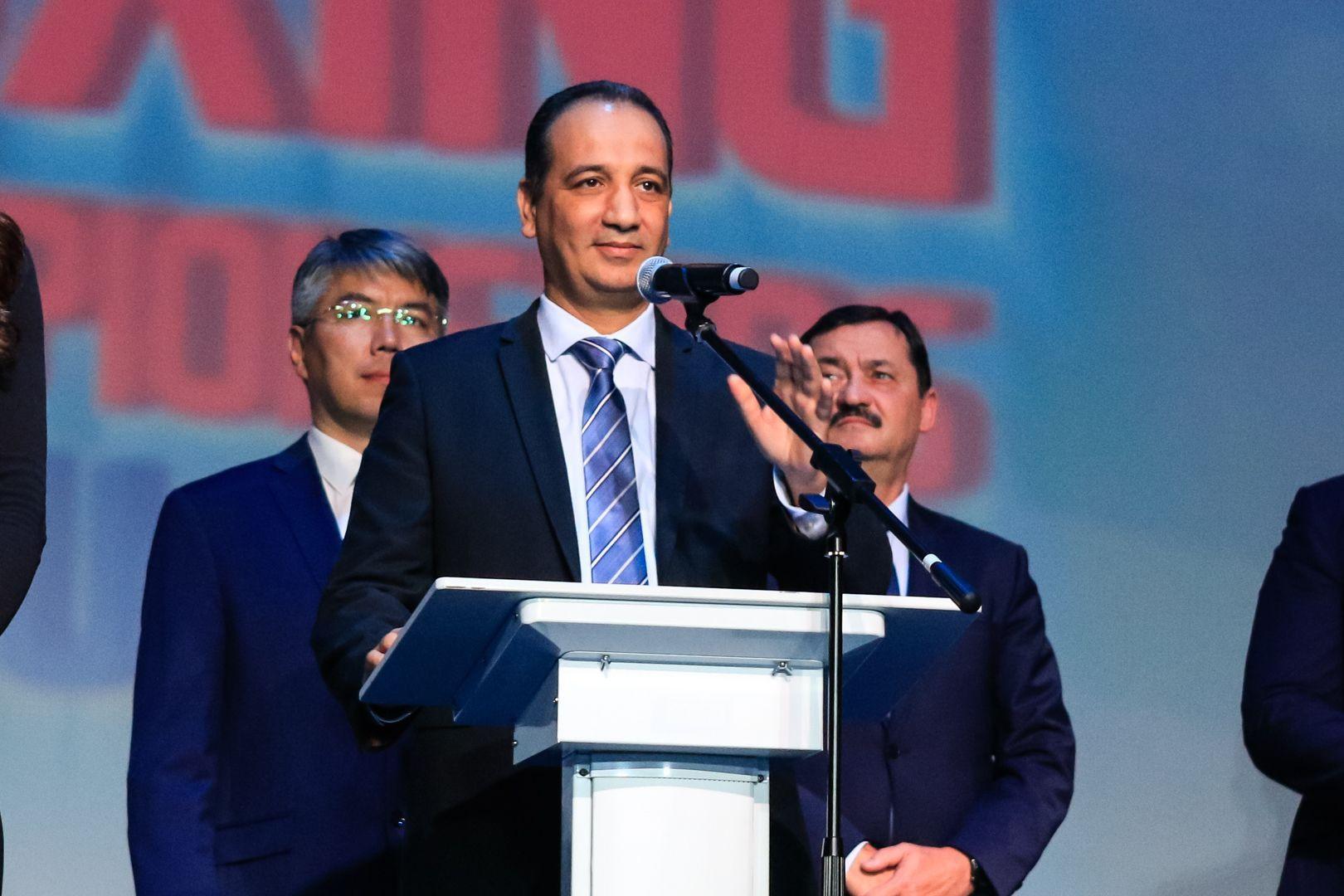 Мохамед Мустасан: Федерация бокса России задает высокий стандарт работы для национальных федераций AIBA