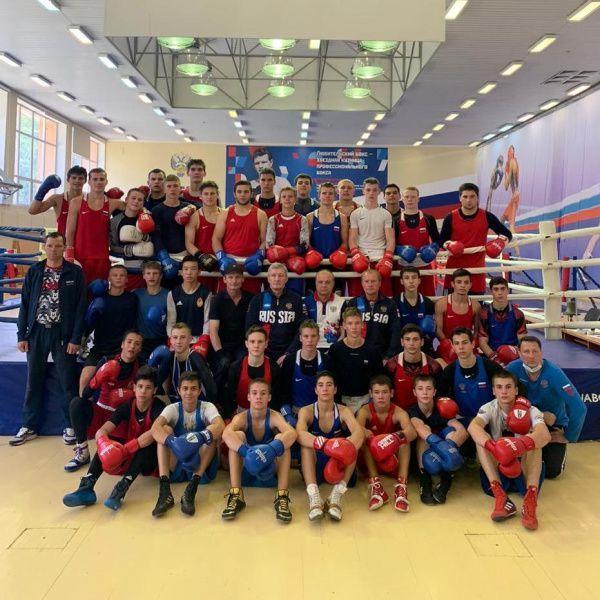 Юношеская сборная команда России по боксу возобновила тренировочную деятельность