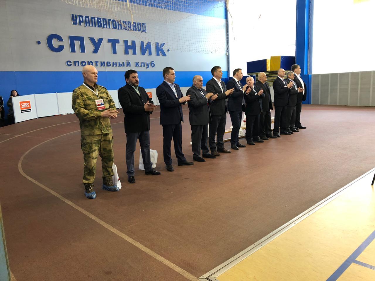 Первенство Уральского федерального округа по боксу Н.Тагил