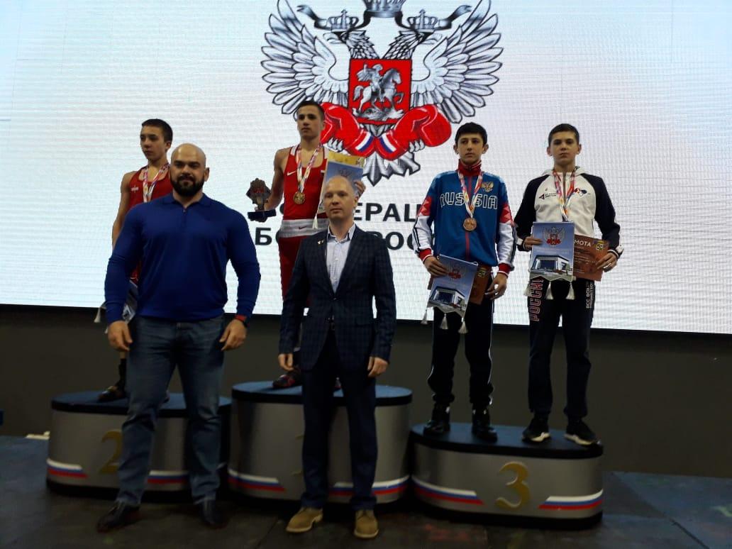 Уральские боксеры заняли призовые места на Первенстве и вошли в состав юниорской сборной России по боксу